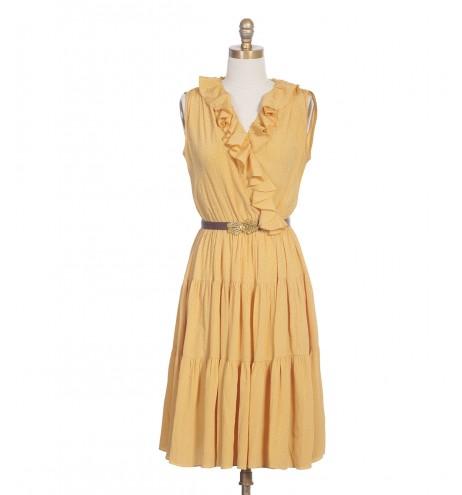 שמלת וינטג' רקדנית