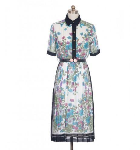 שמלת וינטג' מסגרת