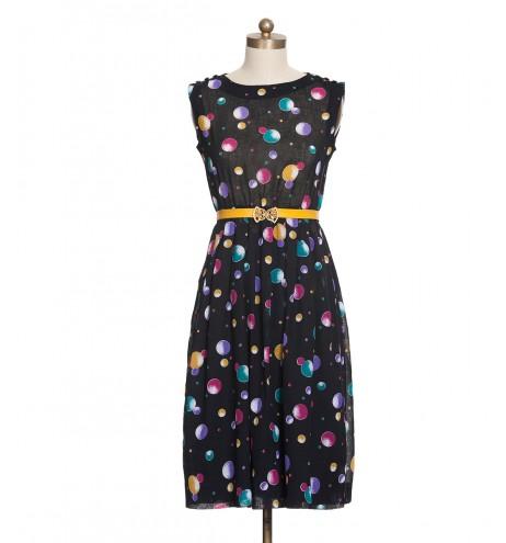 שמלת וינטג' בלונים