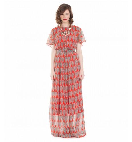 שמלת מוזמביק קורל