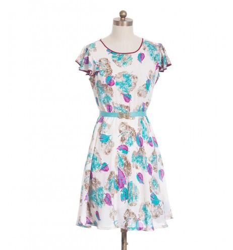 שמלת וינטג' טייגר לילי