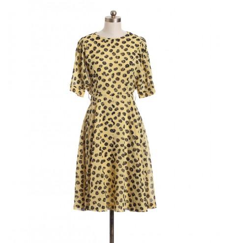 שמלת וינטג' מלינה