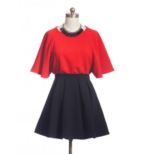 חולצת זוהר אדומה