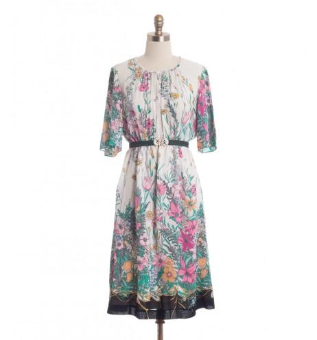 שמלת וינטג' פרנצ'סקה