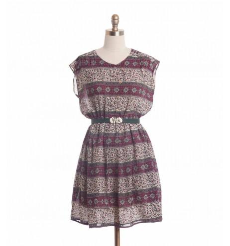 שמלת וינטג' ערבסקה