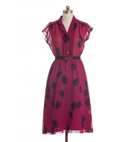 שמלת וינטג' דורה