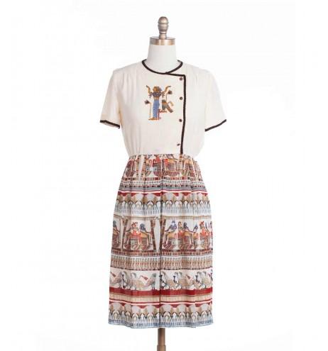 שמלת וינטג' יציאת מצרים