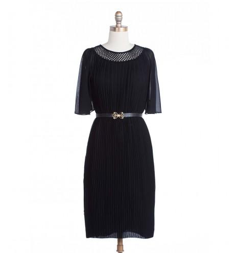 שמלת וינטג' פליסה
