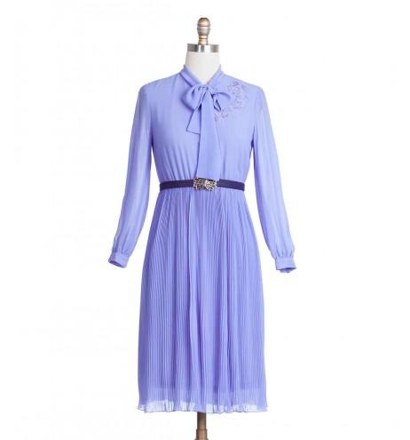 שמלת וינטג' לילך