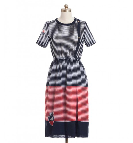 שמלת וינטג' סירה
