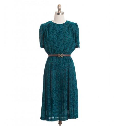 שמלת וינטג' חייתית