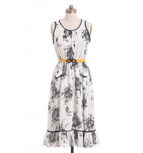 שמלת וינטג' טירות