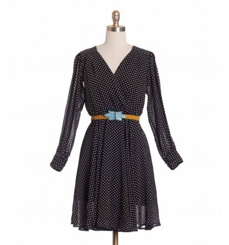 שמלת וינטג' פולקה מעטפת