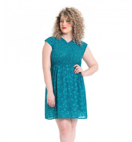 שמלת וינטג' וי