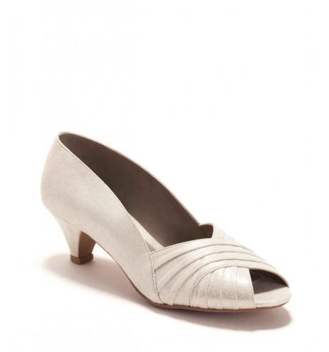 נעלי גבריאלה לבן מנצנץ