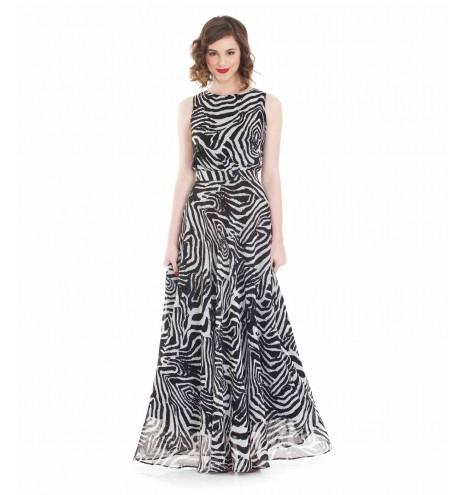 שמלת ויקטוריה זברה