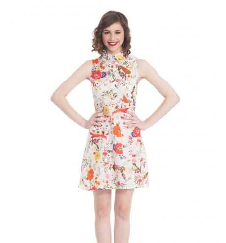 שמלת מאוריציוס פרחונית