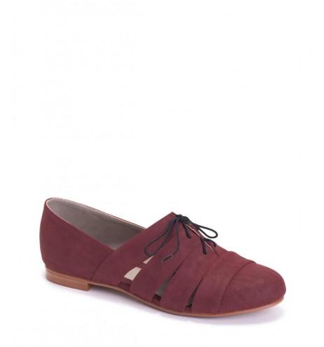 נעלי מלינדה בצבע יין