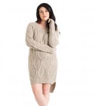 שמלת סוודר ג'יני