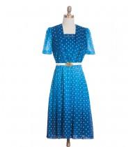 שמלת וינטג' גרדיאנט