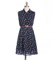 שמלת וינטג' ירחים