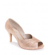 נעלי כלה אפריל זהב