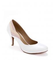 נעלי כלה ססיליה לבן