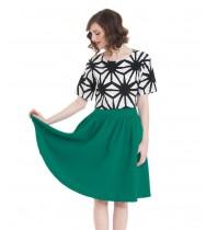 חצאית גאנה ירוק