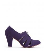 נעלי מארי כחול אלקטרי