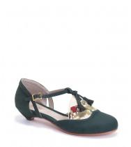 נעלי פאולין ירוק