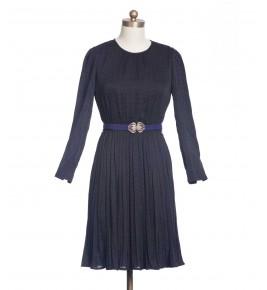 שמלת וינטג' נקודות קטנטנות