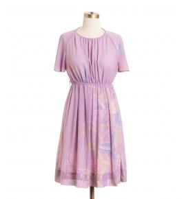 שמלת וינטג' פרפרים