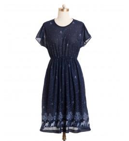 שמלת וינטג' פגי