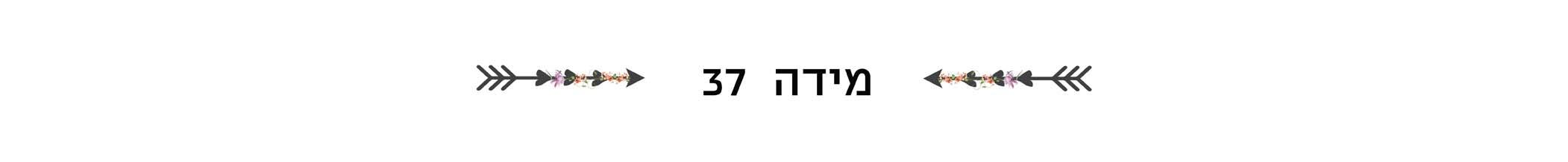 מידה 37