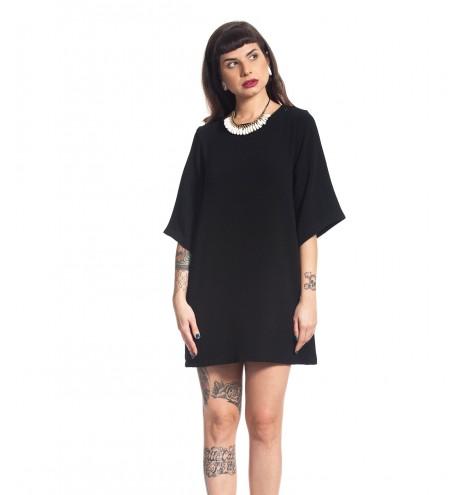 שמלת גל שחורה