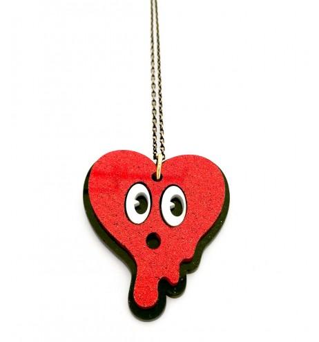 שרשרת GLITTER HEART
