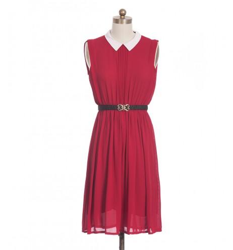 שמלת וינטג' אבטיח ובולגרית