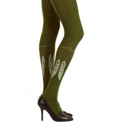 גרביוני סגנון אינדיאני ירוק