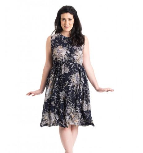 שמלת וינטג' רוז