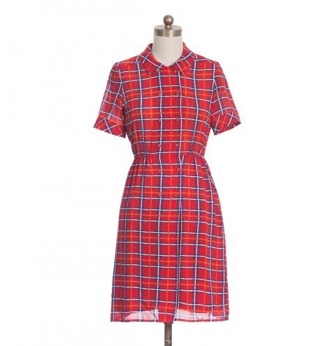 שמלת וינטג' סקוטלנד