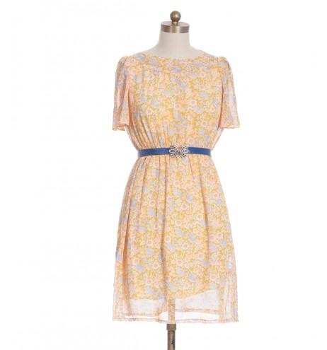 שמלת וינטג' סוכריה