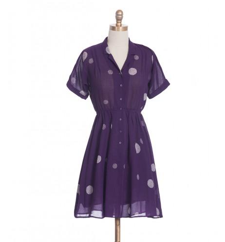 שמלת וינטג' וופל