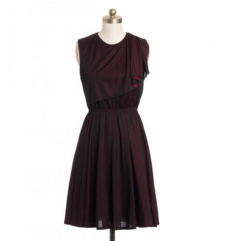 שמלת וינטג' ארגמן