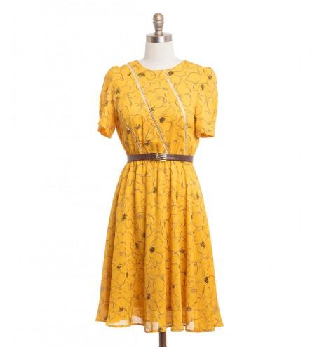 שמלת וינטג' דיטה