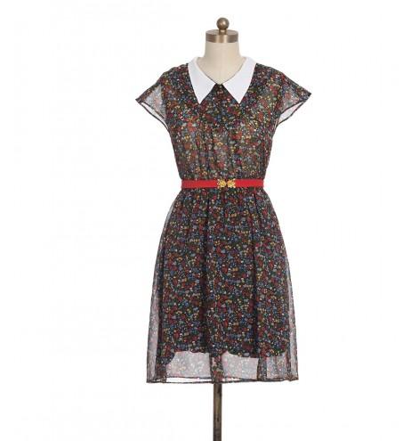 שמלת וינטג' כפרית