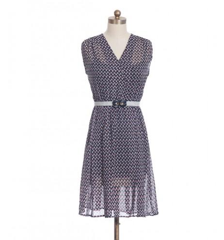 שמלת וינטג' מעטפת