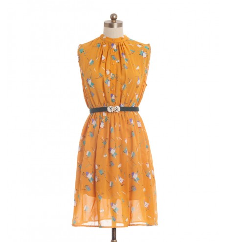 שמלת וינטג' גפרורים