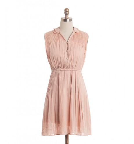 שמלת וינטג' אפרסק