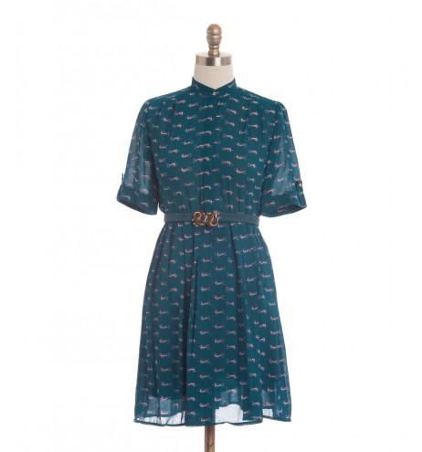 שמלת וינטג' כלבלבים