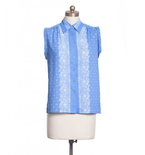חולצת וינטג' פייזלי